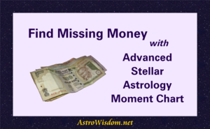 Find Missing Money with Advanced Stellar Astrology