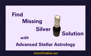 Find Missing Silver Solution with Advanced Stellar Astrology