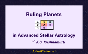 How to Find Ruling Planets in Advanced Stellar Astrology