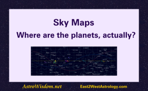 Sky Maps: Where are the planets, actually